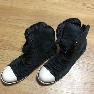 Converse high Unisex black size 9M